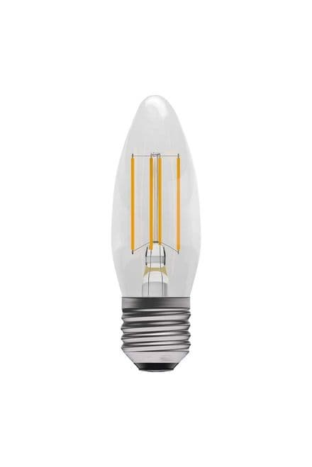 BELL 05308 4W LED Dimmable Filament Candle ES Clear 2700K